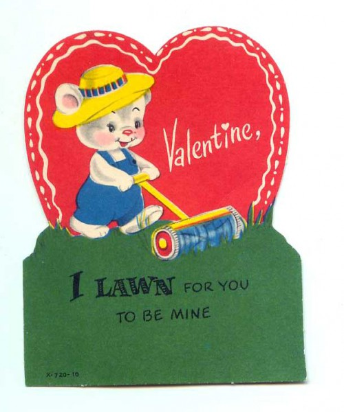 lawn to be valentine