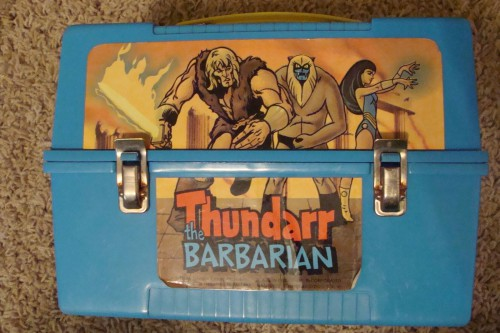 Thundarr the Barbarian Dome Lunchbox