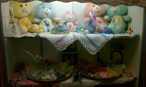 care bears and other scary pastel retro kitsch