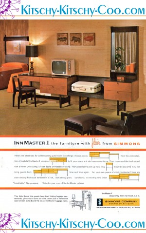 Hotel Room Furniture: Your Hotel Room Hasn't Changed Since The 60s