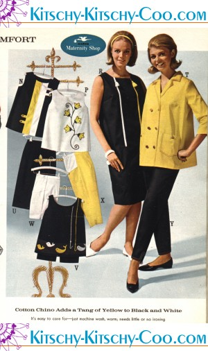 ca2a27a057a1f Maternity Wear from the 1960s, 1970s & 1980s.