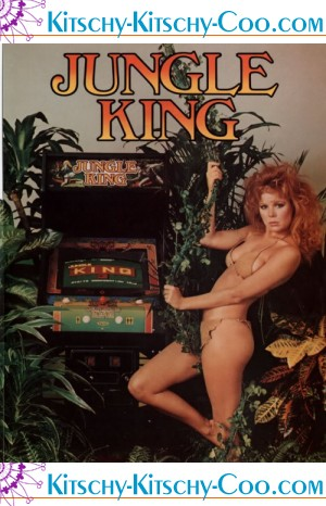 jungle king vintage retro arcade