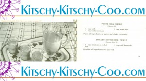 kitschy vintage dairy beverage recipes