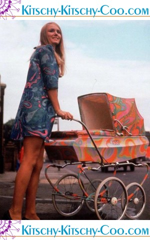 mod baby carriage