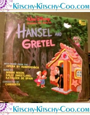 vintage disney hansel gretel lp