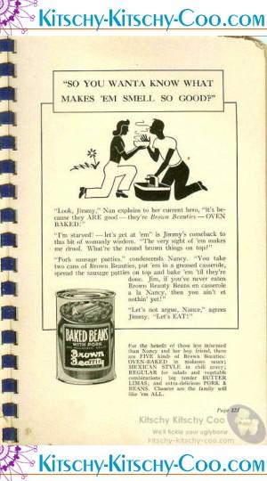 vintage jack sprat baked beans