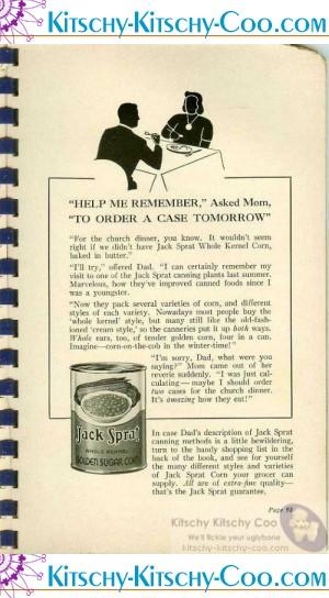 vintage jack sprat foods ad