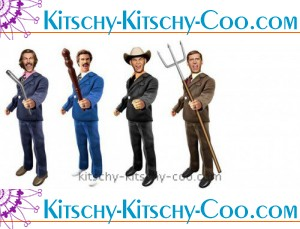 anchorman battle ready action figures from beeline