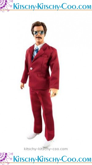 ron burgundy talking doll