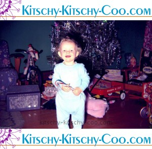 vintage 60s christmas morning photo