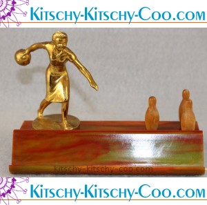 1940s bowling trophy