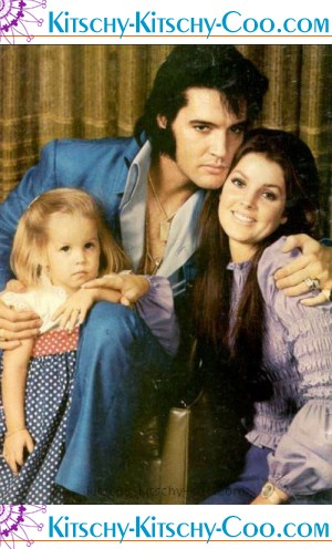 elvis presley family photos