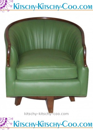 elvis presley green chair