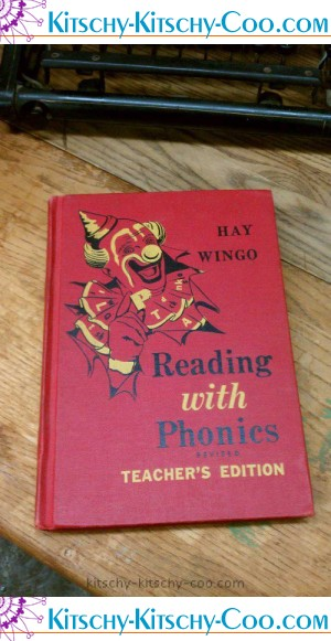 hay wingo vintage school book