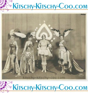 RARE DECO 1928 GEORGE WHITE'S SCANDALS MARION MARTIN IN ERTE COSTUME 11X14 PHOTO