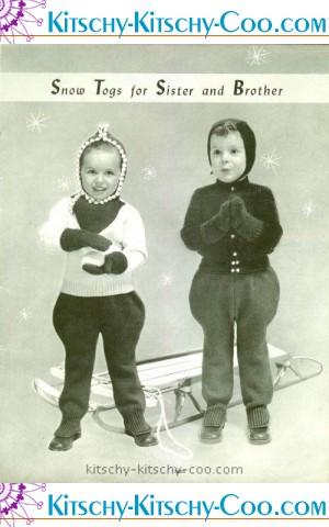 vintage fleishners-baby-book snow suit jodhpurs