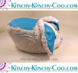 mid-century modern stuffed kitschy bunny